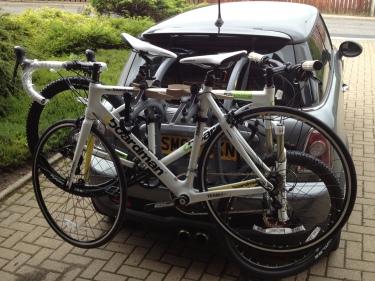 Cycle Rack & Bikes